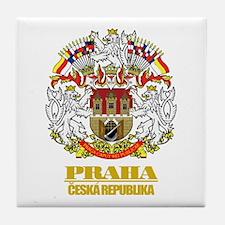 Praha (Prague) COA Tile Coaster