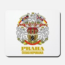 Praha (Prague) COA Mousepad