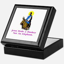 Jesus Rode A Donkey Gifts Keepsake Box