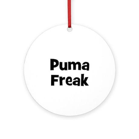 Puma Freak Ornament (Round)