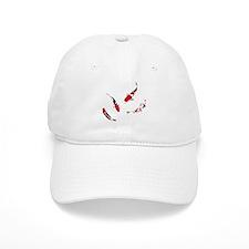 Varicolored carps Baseball Cap