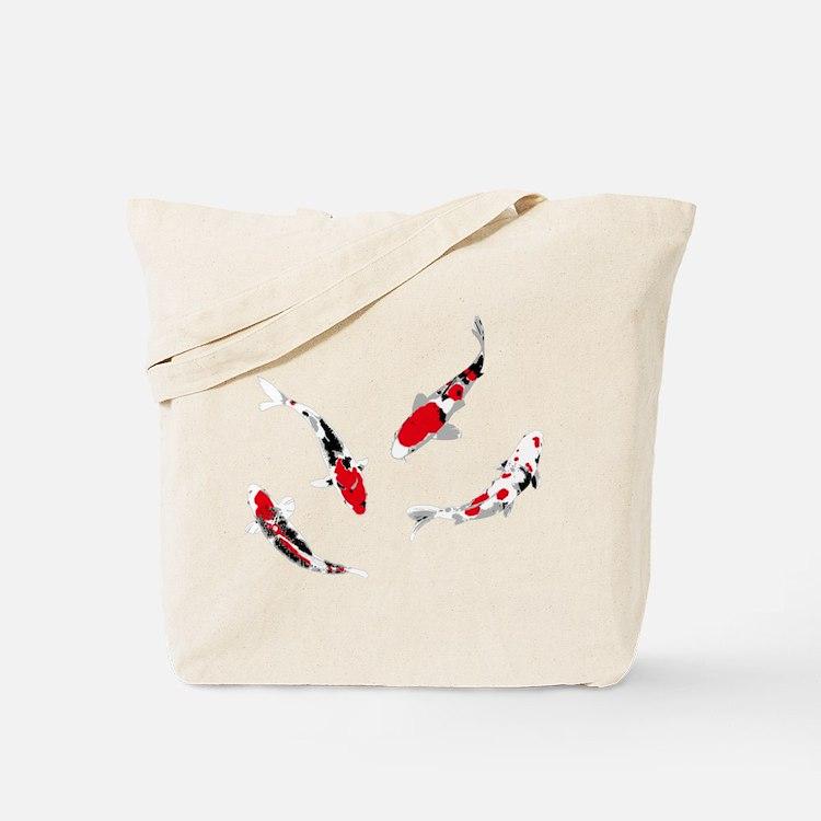 Varicolored carps Tote Bag