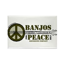 banjosforpeace6 Magnets