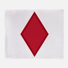 Unique Fifth army Throw Blanket