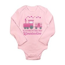 Pink Ribbon Remembering Grandmother Long Sleeve In