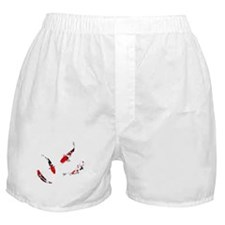 Varicolored carps Boxer Shorts