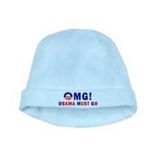 OMG! Obama Must Go baby hat