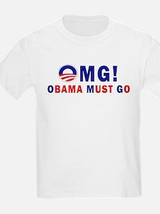 OMG! Obama Must Go T-Shirt