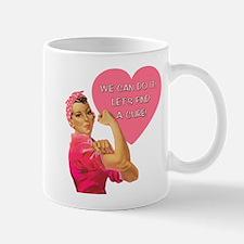 Rosie the Riveter Breast Cancer Mug