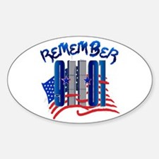 Remember 9/11 - Twin Towers Decal