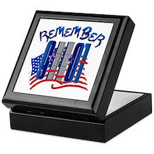 Remember 9/11 - Twin Towers Keepsake Box