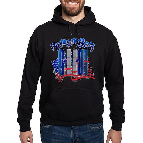 Remember 9/11 - Twin Towers Hoodie (dark)
