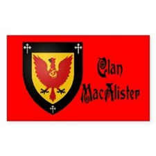 Clan MacAlister Decal