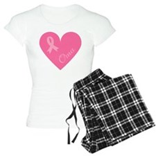 Breast Cancer Oma Heart Pajamas
