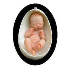 """Aphira"" Egg Baby - Porcelain Keepsake"