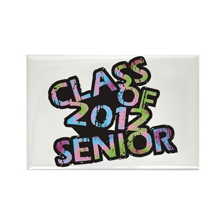 Class of 2012 Senior Rectangle Magnet