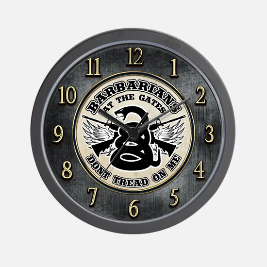 Tea Party - Barbarians at the Gate Wall Clock