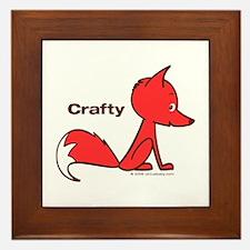 Crafty Fox Framed Tile