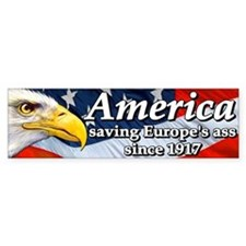 America Bumper Car Sticker