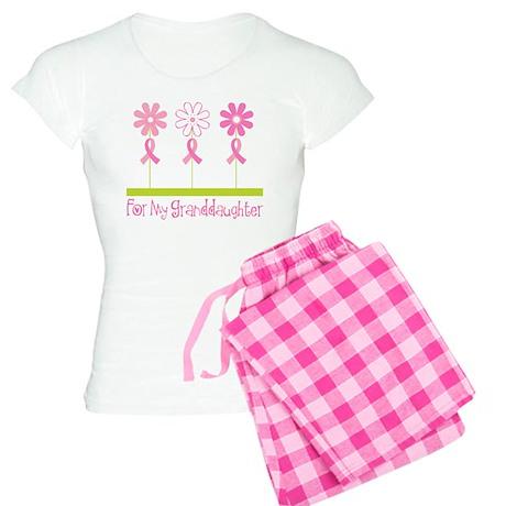 Pink Ribbon For My Granddaughter Women's Light Paj