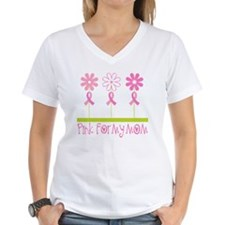 Pink Ribbon For My Mom Shirt