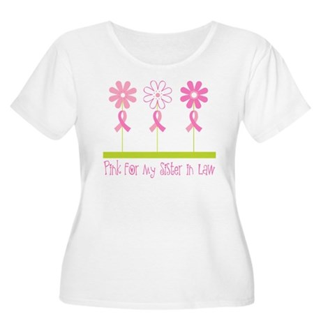 Pink Ribbon For My Sister-in-Law Women's Plus Size