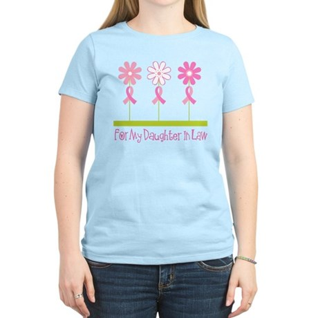 Pink Ribbon For My Daughter-in-Law Women's Light T