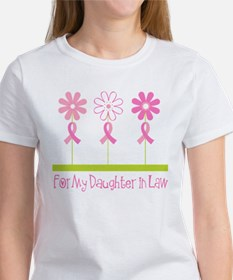 Pink Ribbon For My Daughter-in-Law Tee