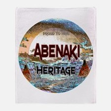 Abenaki Heritage Throw Blanket