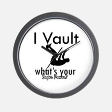 I Vault what's your superpower? Wall Clock