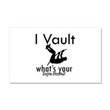 I Vault what's your superpower? Car Magnet 20 x 12