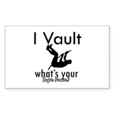 I Vault what's your superpower? Decal