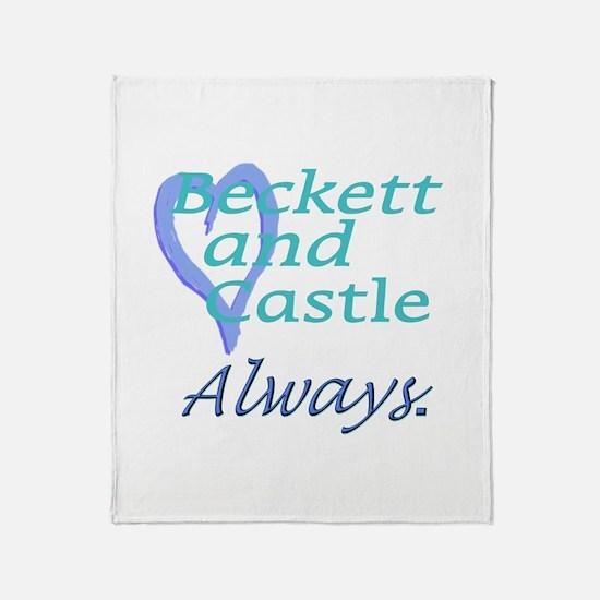 Beckett Castle Always Throw Blanket