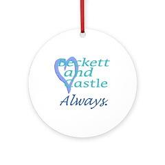 Beckett Castle Always Ornament (Round)