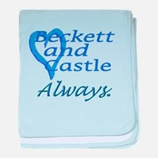 Beckett Castle Always baby blanket