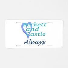Beckett Castle Always Aluminum License Plate