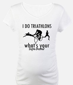 I Triathlons what's your superpower? Shirt