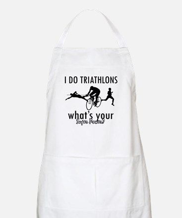 I Triathlons what's your superpower? Apron