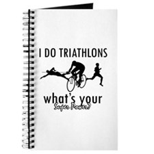 I Triathlons what's your superpower? Journal