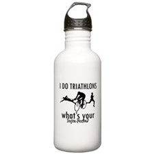 I Triathlons what's your superpower? Water Bottle