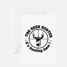 The Beer Hunter Greeting Card