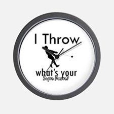 I Throw what's your superpower? Wall Clock