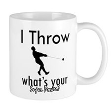 I Throw what's your superpower? Mug
