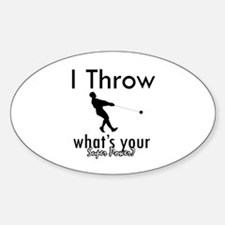 I Throw what's your superpower? Decal