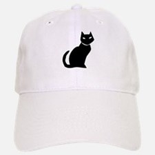 Black cat Baseball Baseball Cap