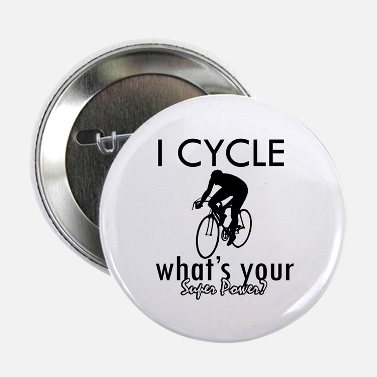 """I Cycle 2.25"""" Button"""