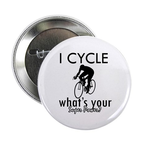 "I Cycle 2.25"" Button (10 pack)"