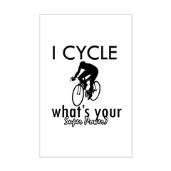 I Cycle Posters