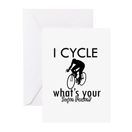 I Cycle Greeting Cards (Pk of 20)