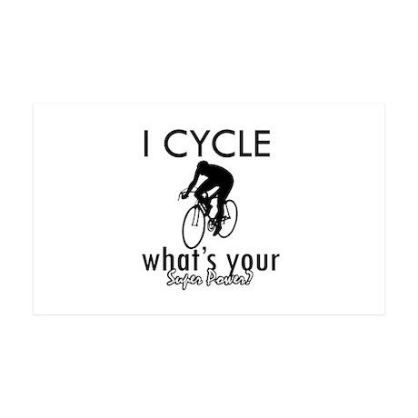 I Cycle 38.5 x 24.5 Wall Peel